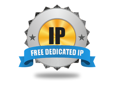 A free of cost Dedicated IP